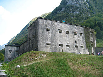Fortification - Remains of Kluže, an Austro-Hungarian fortification in Slovenia