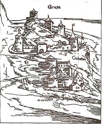 Battle of Obreška - Krupa in 1530.