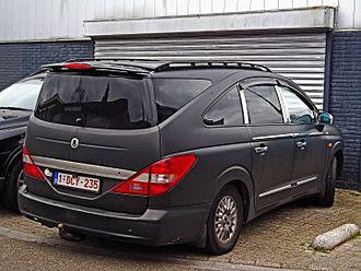 SsangYong Rodius - First generation Rodius rear