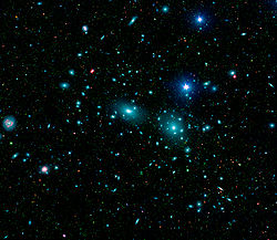 Coma Cluster - Wikipedia, the free encyclopedia
