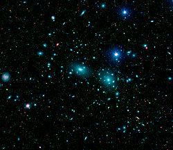 后发座星系团