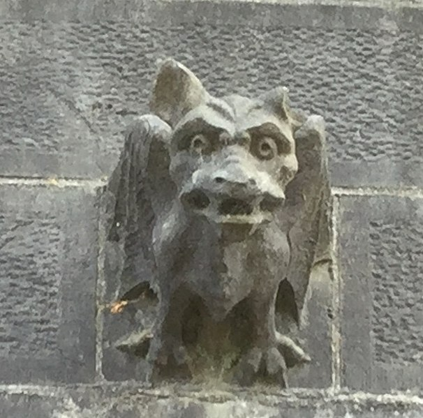 Gargoyle on St Fin Barre's Cathedral in Cork