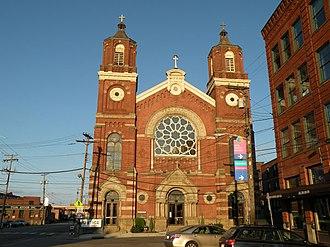 Strip District, Pittsburgh - Image: St.Stanislaus Kostka
