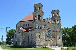 St. Mary's Church (Beaverville, Illinois) - St. Mary's Church, Beaverville, IL