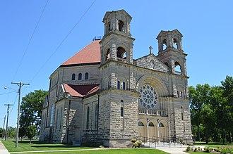 Beaverville, Illinois - St. Mary's Church in Beaverville