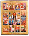 St. Nicholas the Wonderworker, with scenes from his life.jpg