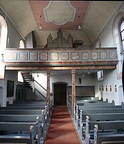 St. Nikolaus Espenschied (Lorch, Rheingau) Empore.jpg