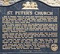 St. Peter's Mendota plaque 2006.jpg