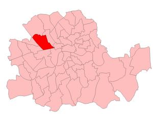 St Marylebone (UK Parliament constituency) - St Marylebone in London 1918-50