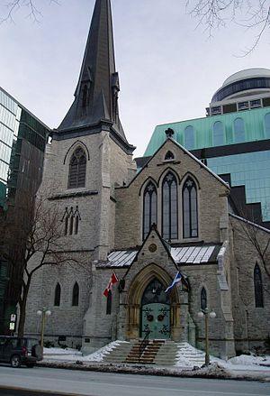 St. Andrew's Presbyterian Church (Ottawa) - St. Andrew's Presbyterian Church, Ottawa.