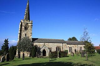 Rillington village in United Kingdom