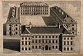 St Bartholomew's Hospital, London; bird's-eye view of the 17 Wellcome V0013001.jpg