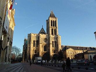 Hilduin - West facade of St. Denis cathedral
