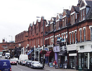 suburb of the London Borough of Richmond
