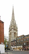 St Mary Abbots, Kensington High Street, London W8 - geograph.org.uk - 1590142.jpg