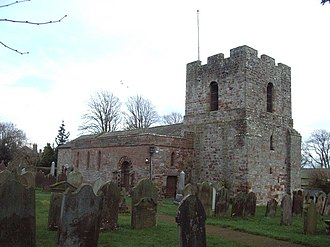 Burgh by Sands - Image: St Michael's Church, Burgh by Sands geograph.org.uk 351846
