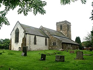 Ashby cum Fenby - Image: St Peter, Ashby cum Fenby 2 geograph.org.uk 425762