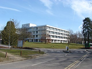 St Peters Hospital, Chertsey Hospital in Surrey, England
