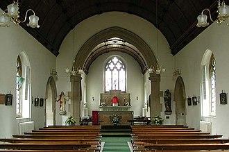 Benson Memorial Church - Interior of the church