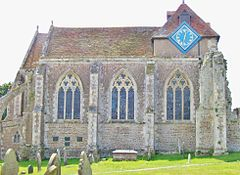 St Thomas, Winchelsea, north side.JPG