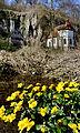 St Wendel zum Stein, eine spätgotische Kapelle wunderschön in die Felslandschaft an der Jagst integriert. 10.jpg