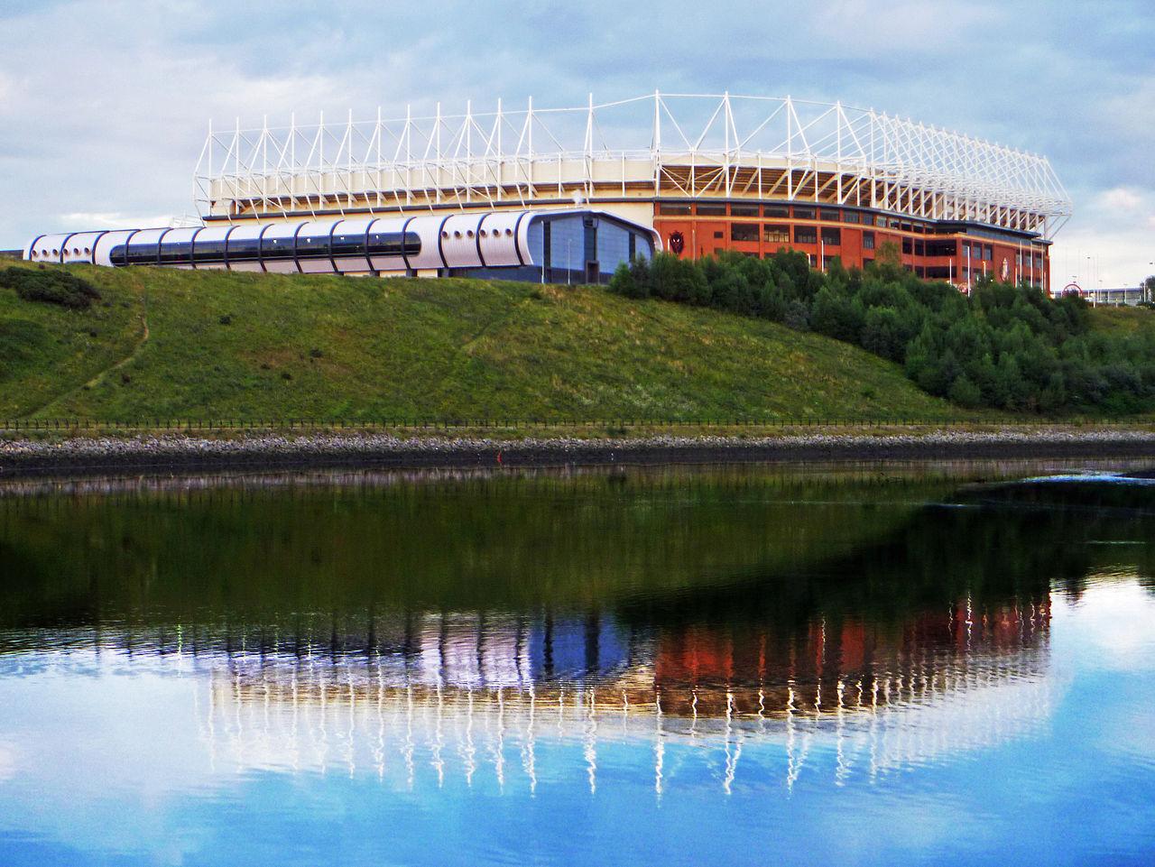 Das Stadium of Light in Sunderland