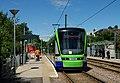 Stadler Variobahn Tram at Addiscombe (geograph 3033862).jpg