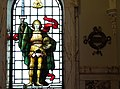 Stained Glass in City Hall - Belfast - Northern Ireland - UK (41789966500).jpg