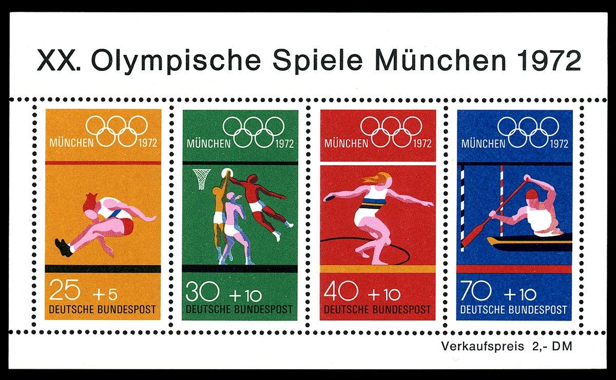 Briefmarken Jahrgang 1972 Der Deutschen Bundespost Wikipedia