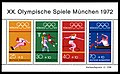 Stamps of Germany (BRD), Olympiade 1972, Blockausgabe 1972, Markenblock 2.jpg