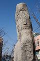 Standing Maitreya statues at Daegyo-ri, in Hongseong, Korea 03.jpg