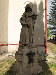 Sloup se sousoším svaté Anny s Pannou Marií