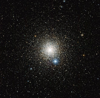 Pavo (constellation) - The globular cluster NGC 6752 contains an estimated 100,000 stars.