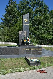 Stara Vyzhva Brothery Grave of WW2 Warriors and Partisans 01 (YDS 5531).jpg