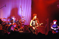 Gli Static-X al Cannibal Killers Tour