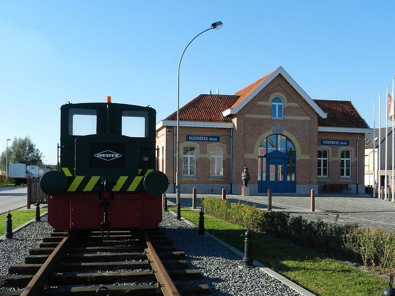 Station Moerbeke-Waas