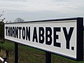 Station Sign - Thornton Abbey - geograph.org.uk - 1580177.jpg