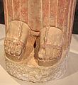 Statua funeraria femminile detta la dea di berlino, da keratea in attica, 580-560 ac ca. 03.JPG