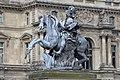 Statue Louis XIV Place Musée Louvre Paris 1.jpg