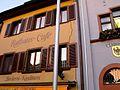 Staufen 2009 Hebungsrisse Rathauscafe 2.jpg