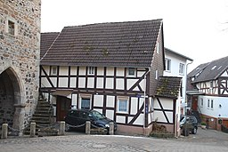 Hintergasse in Staufenberg