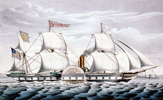 Jacob Aaron Westervelt - The SS Washington (1847)