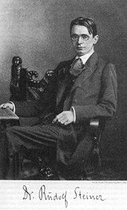 Rudolf Steiner 1900
