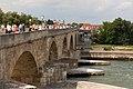 Steinerne Brücke, Regensburg, 10.08.13.jpg
