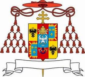 Ippolito II d'Este - Coat of Arms of Cardinal Ippolito II d'Este.