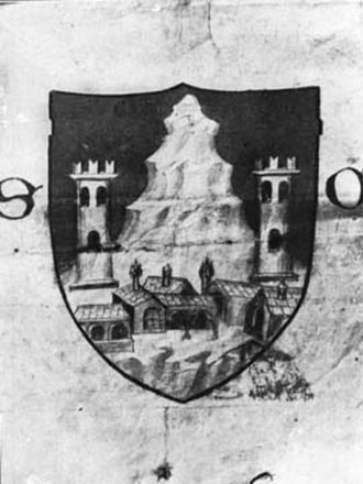Sonvico - Original coat of arms donated by the Duchy of Milan in the 15th century