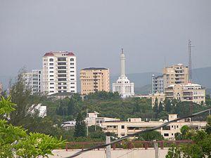 Santiago de los Caballeros - Image: Stgo City Sky Line DR