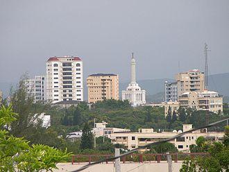 Santiago Province (Dominican Republic) - Santiago City's skyline at La Trinitaria