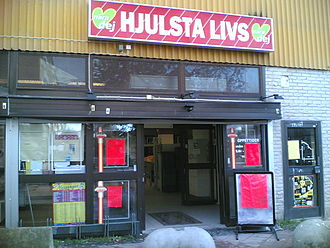 Hjulsta - Local grocery store near Hjulsta Tunnelbana station.