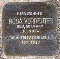 Stolperstein Arnstadt Ried 7-Rosa Vorreuter.JPG